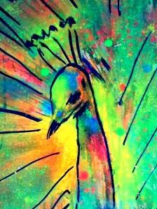 peacocks flare123