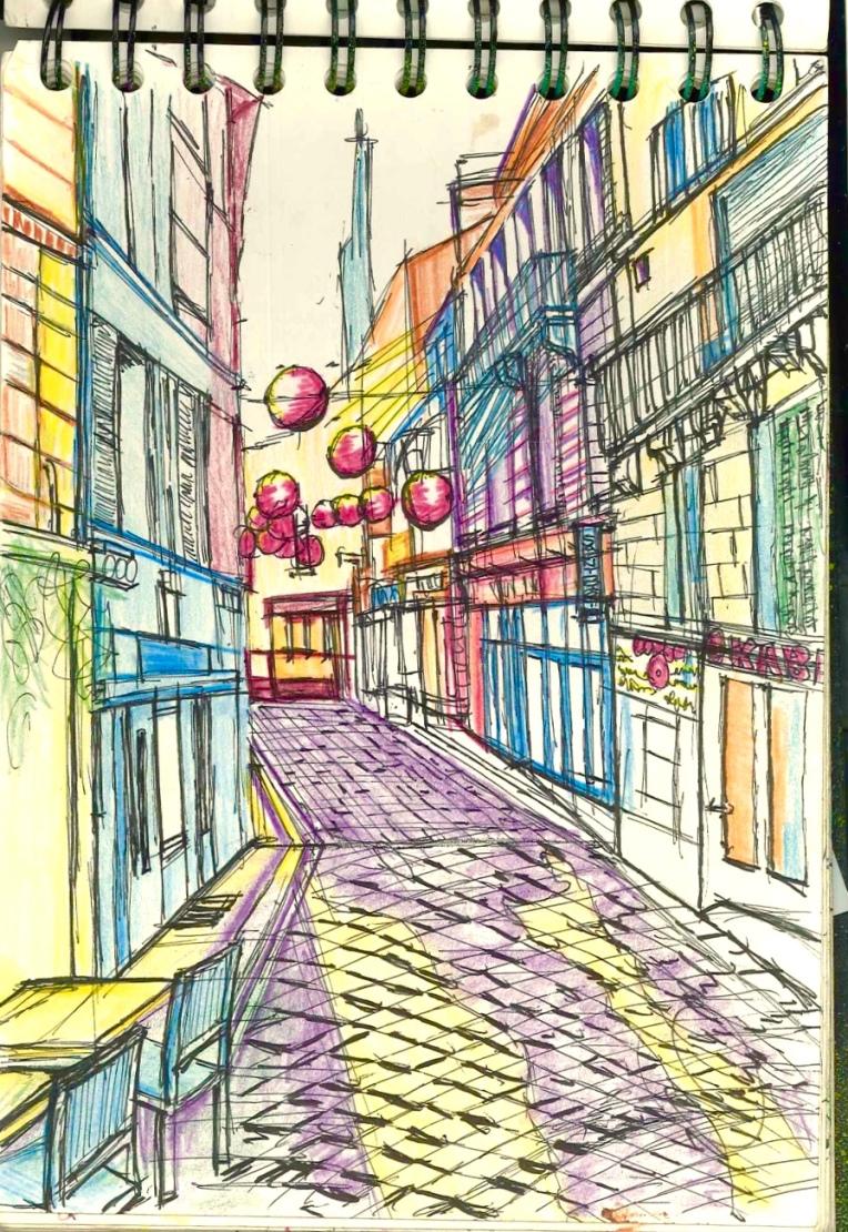 Angouleme backstreet